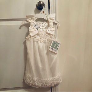Ivory Bonnie Jean Formal Girl's Dress